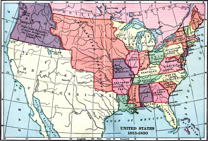 This Map May Help Us To Realize Just How Far North The Mexican Territory Extended Into The Rocky Mountains At The Time Of The Mountain Man Rendezvous
